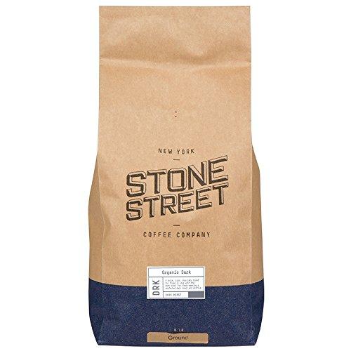 Bleak ROAST ORGANIC | Gourmet Ground Coffee | 5 LB Bulk Bag | Rain Forest RFA & Free-Trade | Full-Body, Bold, Prolific Taste | 100% Arabica
