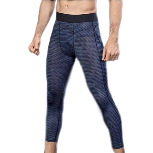 船尾男らしさ傾いたYeanコンプレッションタイツ ランニングタイツ メンズ 黒 速乾 吸汗 弾性 股保護 運動着 スポーツズボン トーレニングズボン