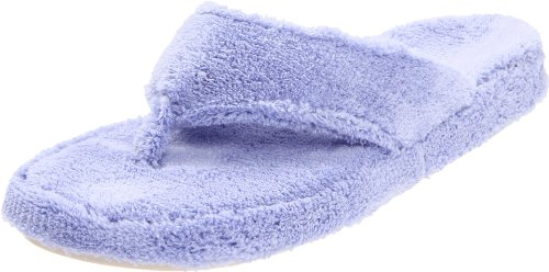 - ACORN Women's Spa Thong, Periwinkle, X-Large / 9.5-10.5