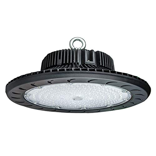 High Bay LED Lighting,100W LED Shop Lighting with Bright White 5500K 12,000LM,Replacement for 350W-400W HPS/MH Bulbs,Great LED High Bay Lights for Garage Commercial Shopping Mall (100Watt)