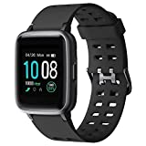 Smart Watch, GRDE Fitness Tracker Watch, Bluetooth 5.0 Activity Tracker Full Touch Screen