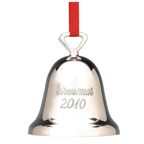 Reed & Barton Annual 2010 Silver Plated Dated Christmas Bell