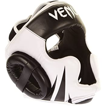 Venum Challenger 2.0 Casco, Negro/Blanco