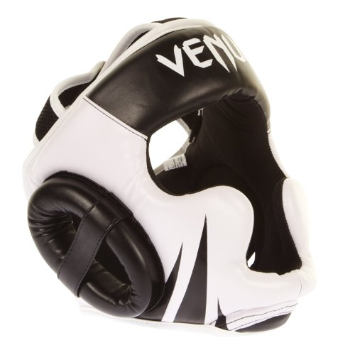 Venum Challenger 2.0 Headgear, Black/White
