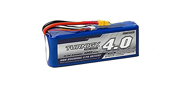 Turnigy 4000mAh 5S 30C Lipo Pack w/XT-60: Amazon ca: Electronics