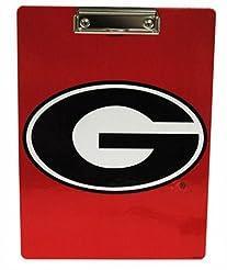 NCAA Georgia Bulldogs Clipboard with Tea...