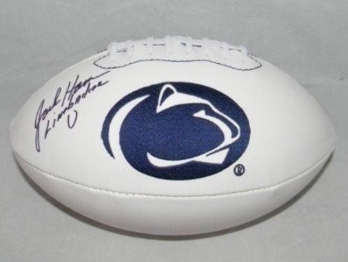 - Jack Ham Signed Autographed Penn State Nittany Lions Logo Football Linebacker U - Autographed College Footballs