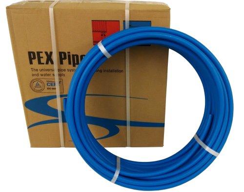VIVO 1/2 inch x 300ft Blue Pex Tubing/Pipe Pex-B 1/2 inch 300 feet | Potable Water NonBarrier Plumbing (PEX-12-B030)