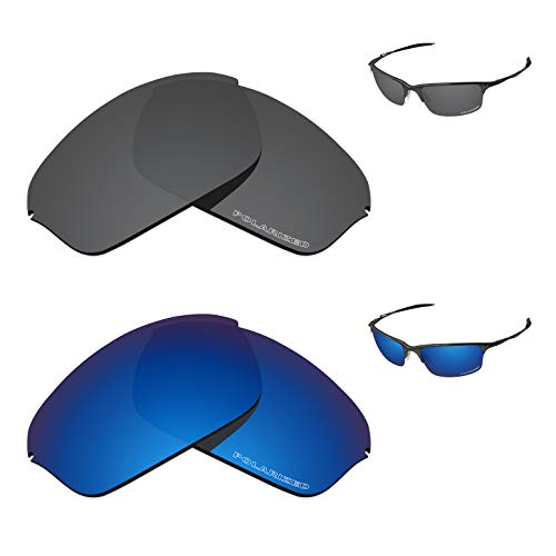 (Tintart Performance Replacement Lenses for Oakley Half Wire 2.0 Polarized Etched - Value)