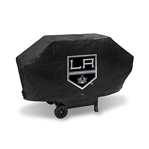 NHL Los Angeles Kings Deluxe Grill Cover, Black, 68 x 21 x 35""