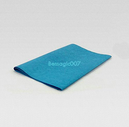 5 sheets 50x20cm Blue Magic Paper- Fire Magic Tricks