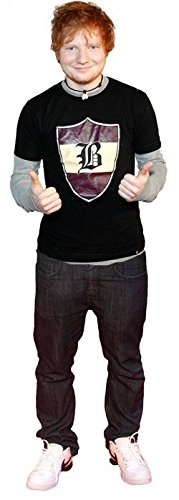Ed Sheeran (Thumbs Up) Life Size Cutout Celebrity Cutouts