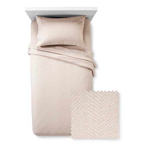 - Room Essentials Jersey Sheet Set Prints (Sandalwood)