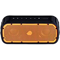Timo Corbett I, TM-BT003-2015A-OR, Rugged and Waterproof Wireless Bluetooth Speaker (Orange)