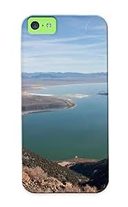 Pirntalonzi Cute Tpu HQz76YQbGt Long Valley Caldera Case Cover Design For Iphone 5c