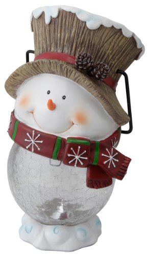 Hanging Snowman, Solar Light, Japan Import by Takasho