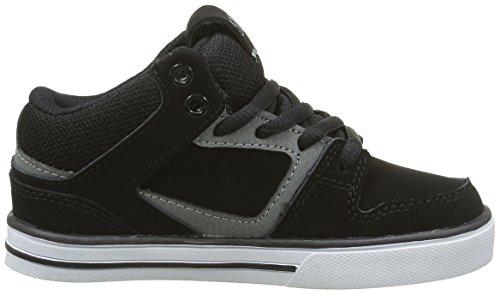 DVS APPAREL Everett Mid, Zapatillas de Skateboarding para Niños Negro - Noir (003)
