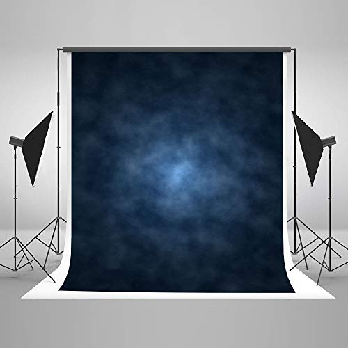 Kate 5x7ft Dark Blue Abstract Photography Backdrop Blue Abstract Textures Background Old Master Blue Photo Backdrops