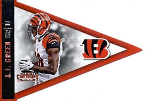 Card Bengals Cincinnati - 2015 Panini Contenders Pennants #32 A.J. Green Cincinnati Bengals Football Card