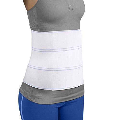Premium Plus Size Bariatric Abdominal Binder - 9'' 3 Panel - Fits Waist Sizes 46'' - 62'' by MARS Wellness