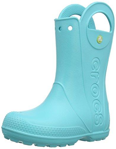 crocs Unisex-Kinder Handle It Rain Boot Gummistiefel Blau (Pool)