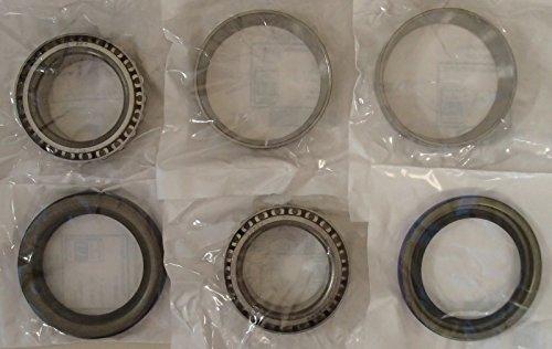Case Bearing (B93175 New Wheel Bearing Kit Made to fit Case-IH Skid Steer Loader Models 1845 +)