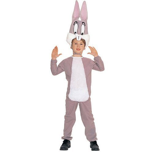 [Rubie's Bugs Bunny Looney Tune Child Costume 3-4 Years 18740 by Rubie's] (Bugs Bunny Costumes For Child)