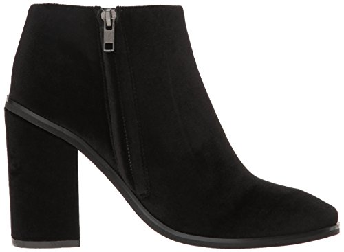 Bootie Women's Velvet Holly Black Sana Boot Sol Ankle qz5Zw1Xzx