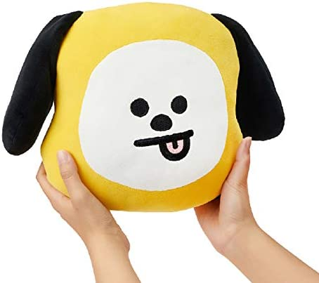 BT21 Official Merchandise by Line Friends – CHIMMY Character Figure Flat Decorative Body Cushion Pillow, Yellow