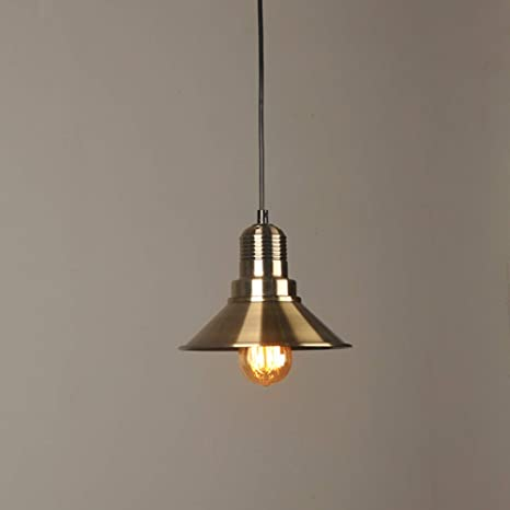 Retro lámpara de techo lámpara colgante vintage E27 Bronce ...
