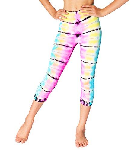 Malibu Sugar Girls (7-10) Malibu Tie Dye Leggings One Size Malibu Tie Dye
