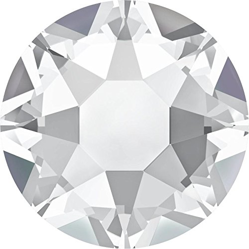 2000, 2038 & 2078 Swarovski Flatback Crystals Hotfix Crystal | SS3 (1.4mm) - Pack of 50 | Small & Wholesale Packs | Free Delivery