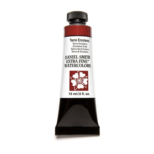 Ercolano Art - Daniel Smith Extra Fine Watercolor 15ml Paint Tube, Terre Ercolano