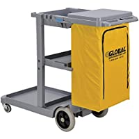 Global Janitor Cleaning Cart - Blue