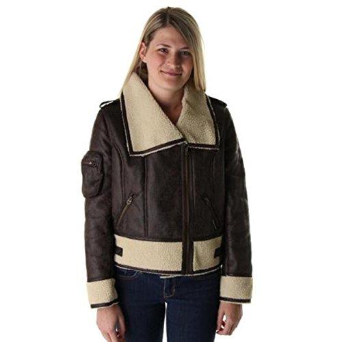 Faux Fur Collar Jacket - 6