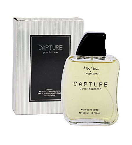 Hey You Original Mens 100 ml CAPTURE Perfume Spray Scent Imported EDT Gift