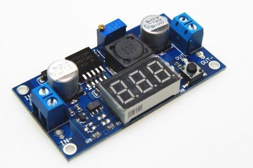 UPC 709127307015, SMAKN Adjustable 4.0-40v to 1.25-37v 5/12v Dc Lm2596 Voltage Regulator Experimental Power Buck Converter+led Voltmeter
