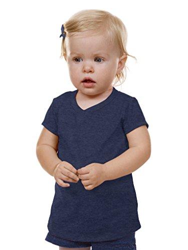 kavio-unisex-infants-v-neck-short-sleeve-ht-navy-24m