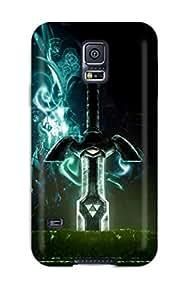 CharlesRaymondBaylor Premium Protective Hard Case For Galaxy S5- Nice Design - Sword