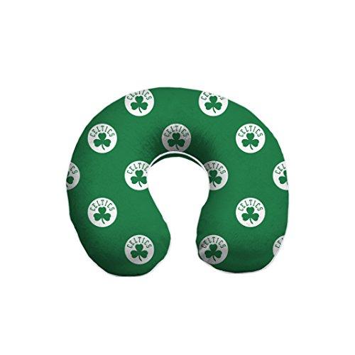 Pegasus Sports NBA Boston Celtics Unisex Nbanba U-Neck Memory Foam Travel Pillow, Green, One Size