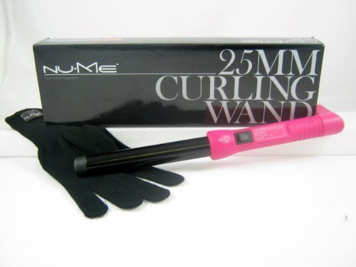 NuMe 25mm Curling Wand Vintage Pink