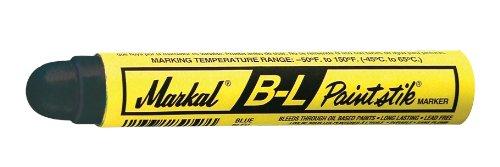 Markal 80725 B-L Paintstik - Bleed Through Solvent Solid Paint Marker, Blue (Pack of 12)