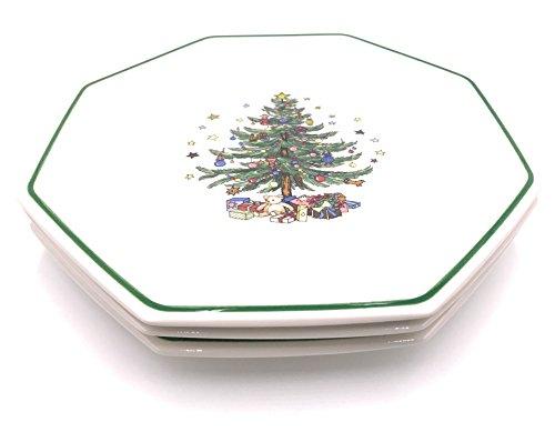 Nikko Christmastime Dinner Plates (3)