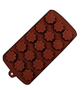 Innovative 15 Candy Molds Easy Release Ice Cube Trays Cool Ice Cube Mold Clover