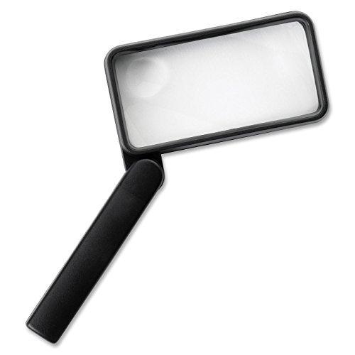 - Sparco 01877 Rectangular Magnifier, 2X Main W/4X Bifocal, 2