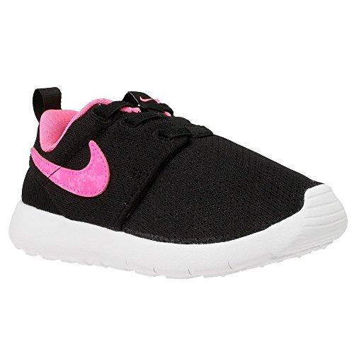 a0705ddd03149 Galleon - Nike - Roshe One Tdv - Color: Black-Pink - Size: 4.0