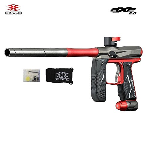 Empire Axe 2.0 Paintball Marker - Dust Red / Grey ()