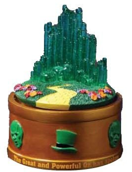 - The San Francisco Music Box Company The Wizard of Oz Emerald City Rotating Mini Figurine