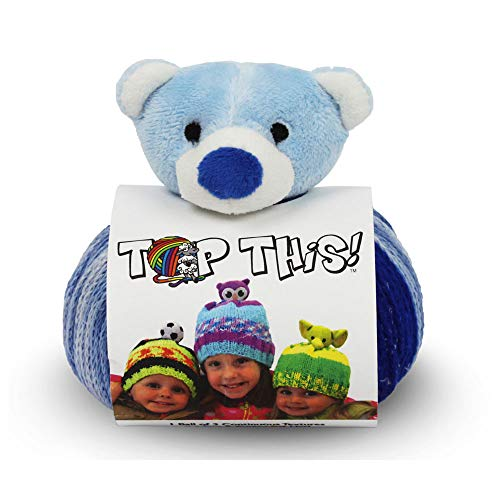 (DMC Top This! Hat Knit Yarn Kit (Teddy Bear))