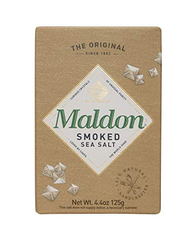 Maldon Salt, Smoked Sea Salt Flakes, 4.4 oz
